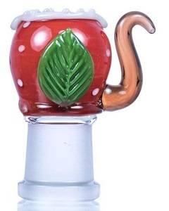 Mario themed Piranha Plant Dab Nail Dome at DopeBoo.com