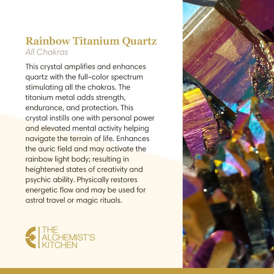 Rainbow Titanium Quartz
