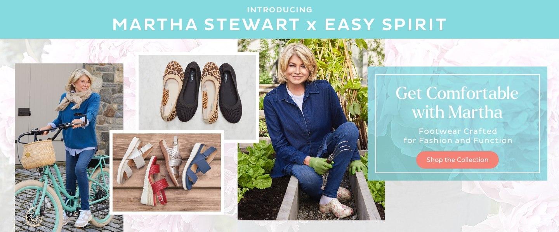 Martha Stewart x Easy Spirit