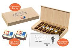 Corporate diwali gift ideas office (18 Chocolates - 100 Box)