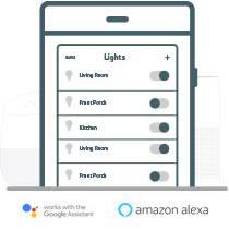 Legrand adorne lighting control app setup