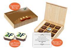 Diwali corporate gifts (9 Chocolates - 100 Box)