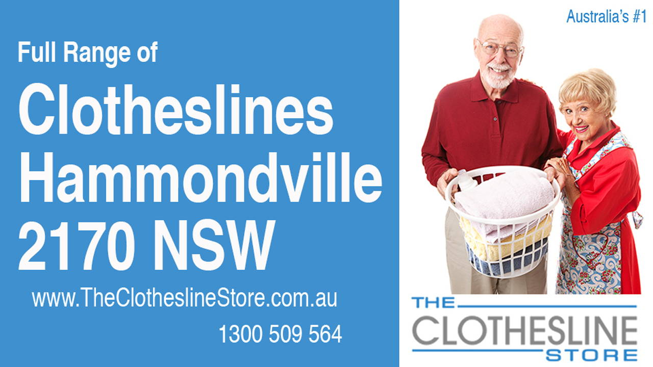 Clotheslines Hammondville 2170 NSW