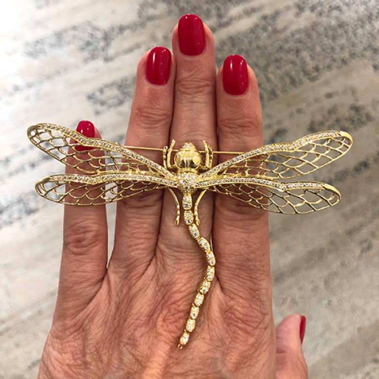 Suna Bro's Dragonfly Pin