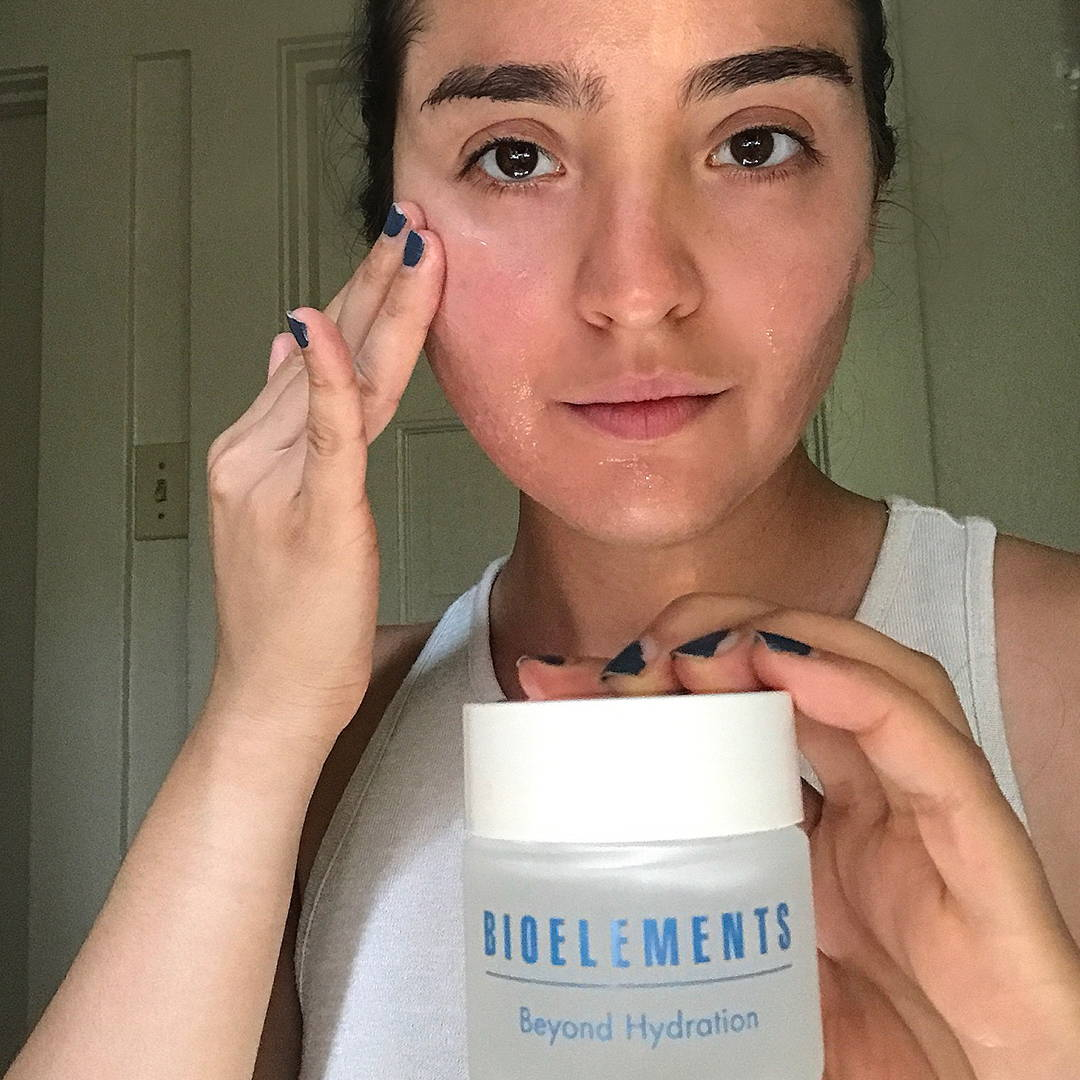 Hydrate without added shine with Bioelements Beyond Hydration