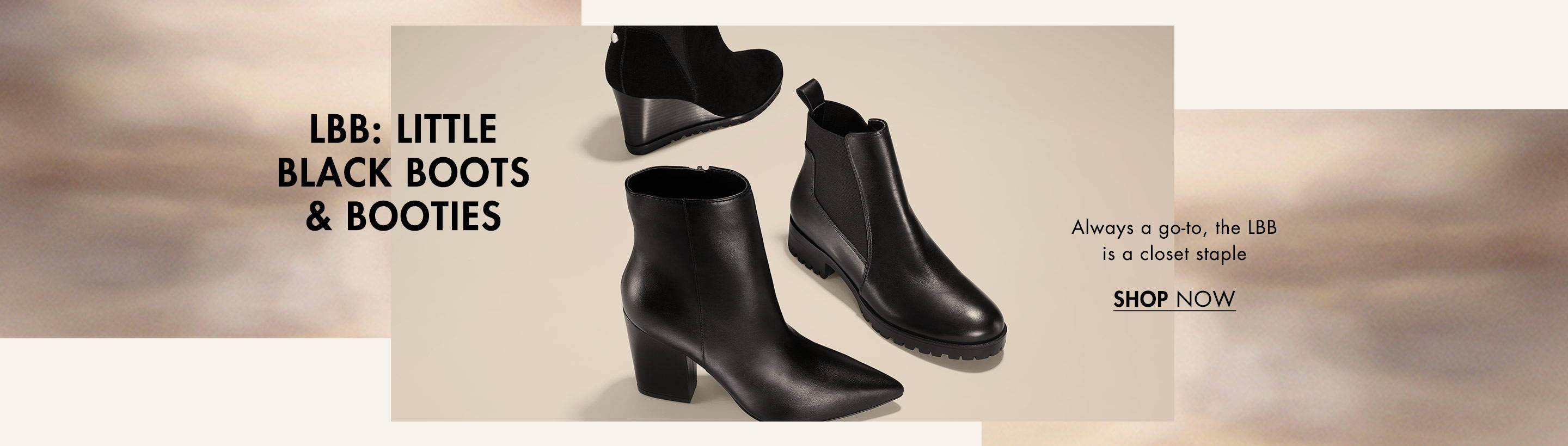 Shop Little Black Boots & Booties