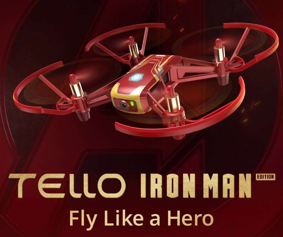 tello iron man | dr Drone