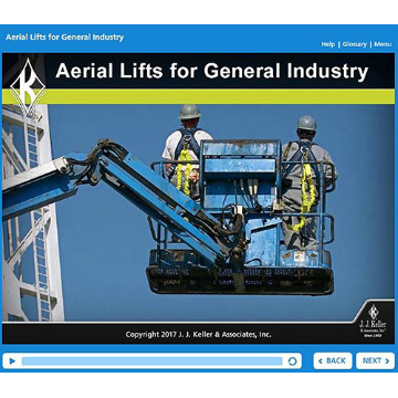 Aerial Lifts For General Industry Online Training