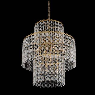 Allegri Lighting Crystal Pendants, Chandeliers, Wall Sconces, & Ceiling Lights -  Caretta Collection