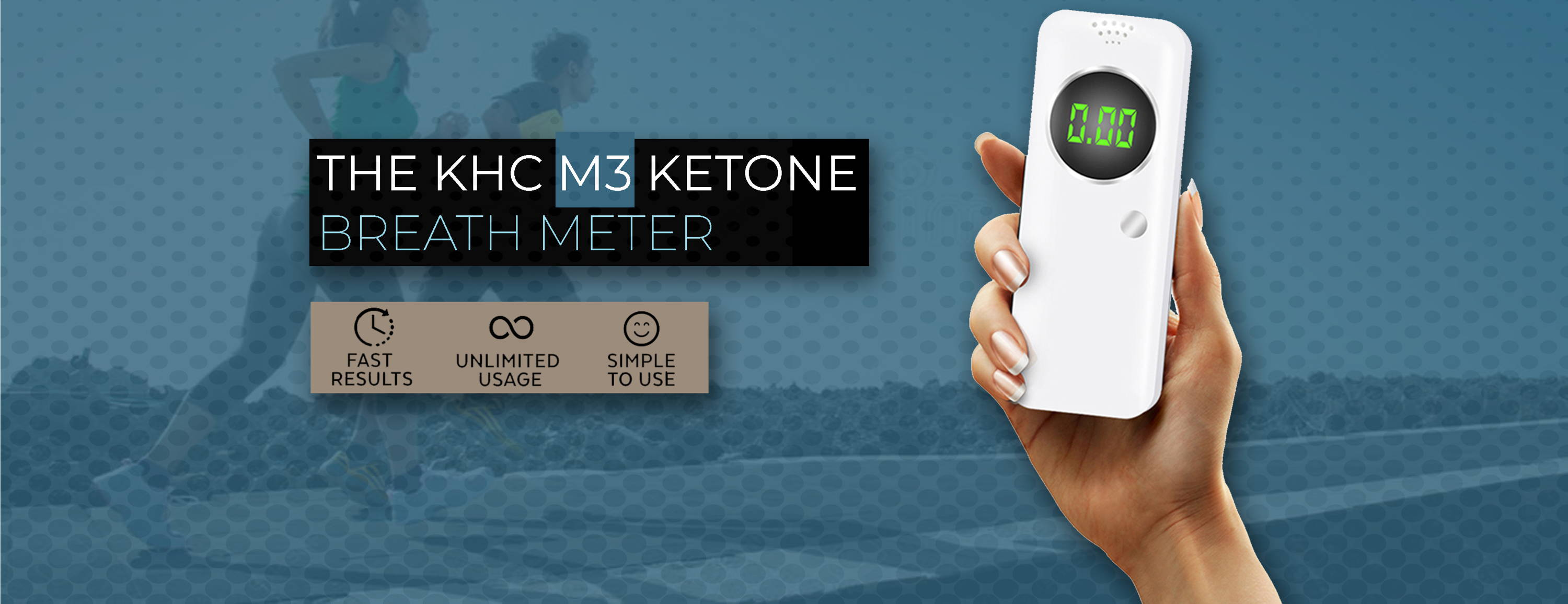 KHC M3 Ketone Breath Mete