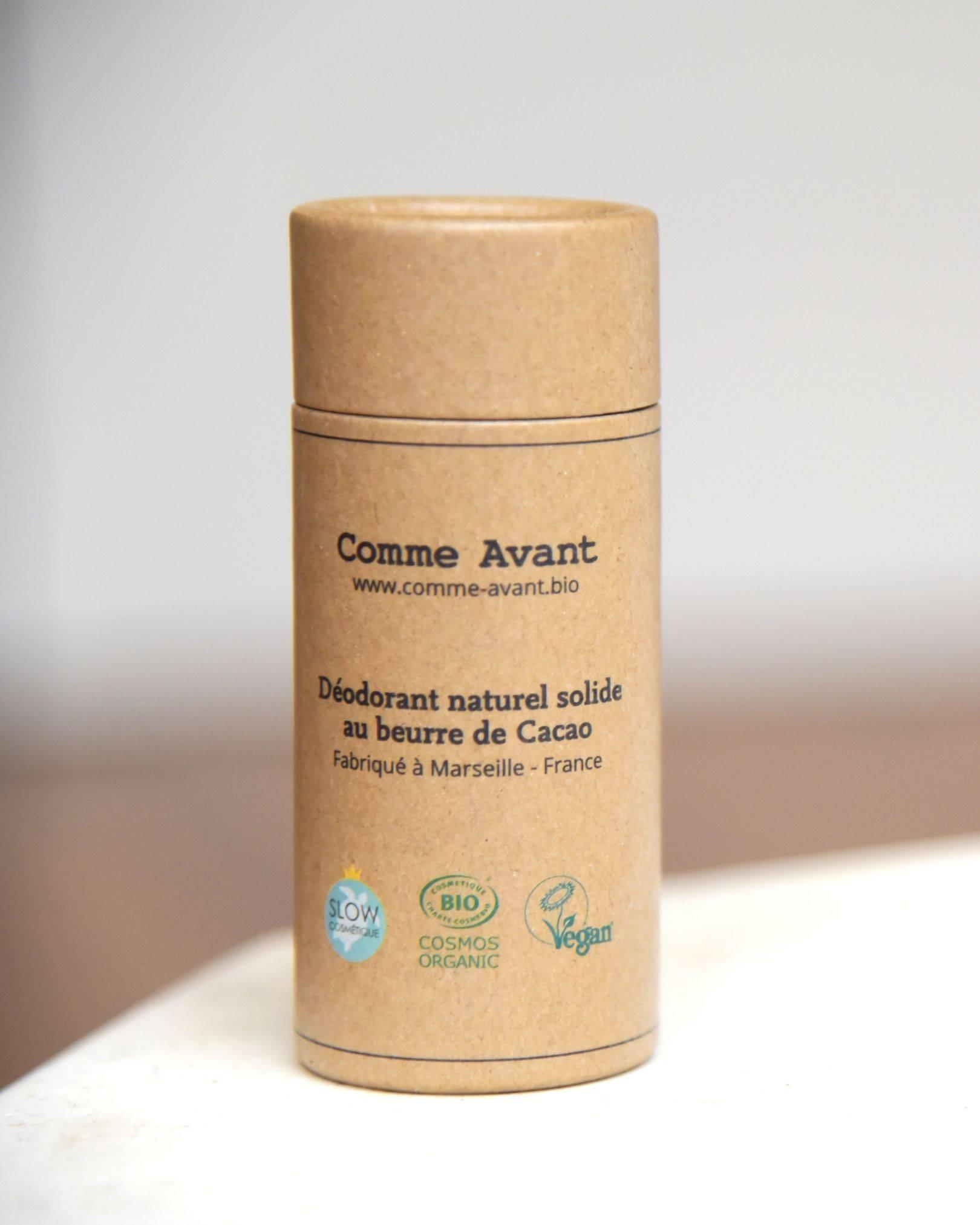 Déodorant solide Bio - Beurre de Cacao