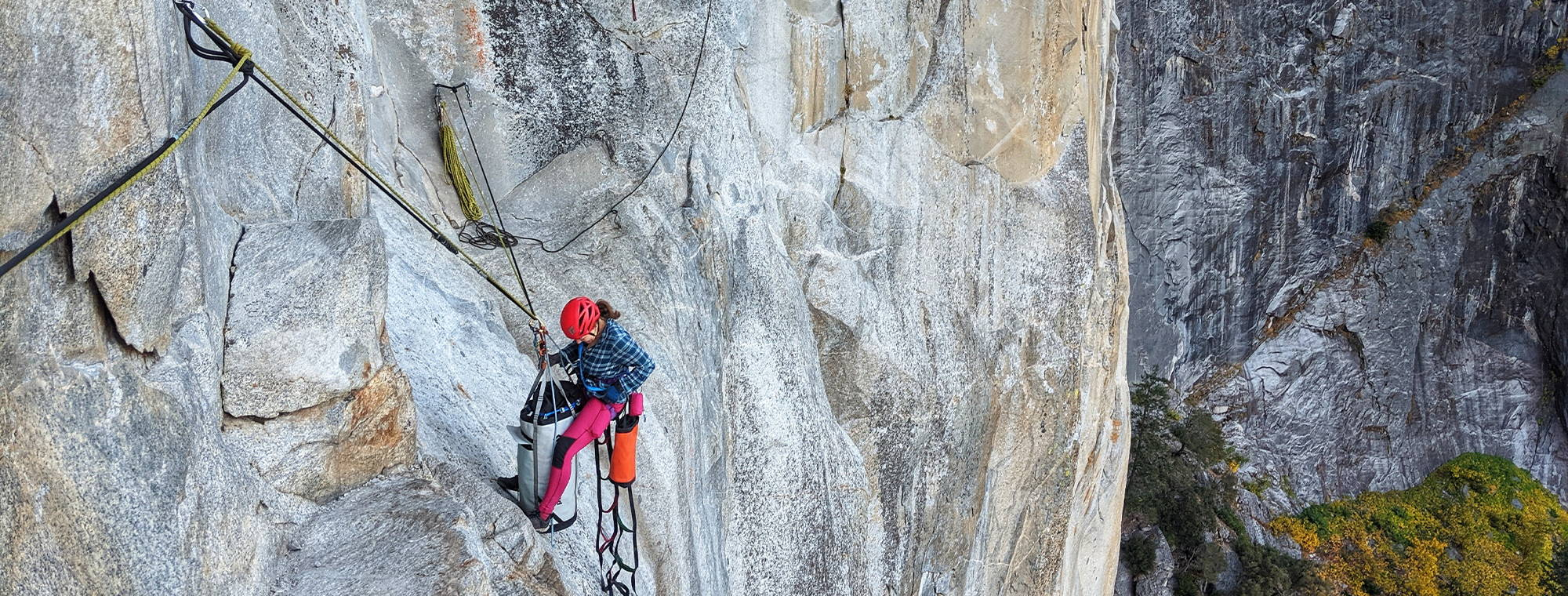 NW Alpine Ambassador Natalie Afonina Climbing in Yosemite