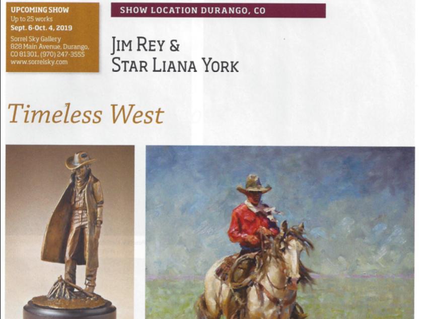 Branding Fire Bronze Sculpture by Star Liana York