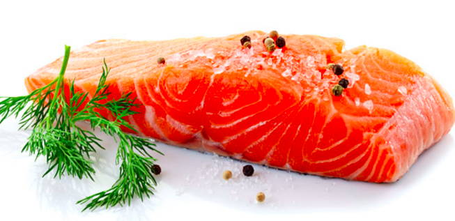Pet Chef raw salmon ingredient