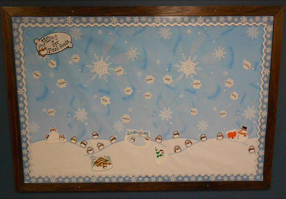 Free Ideas Winter Wonderland Bulletin Board