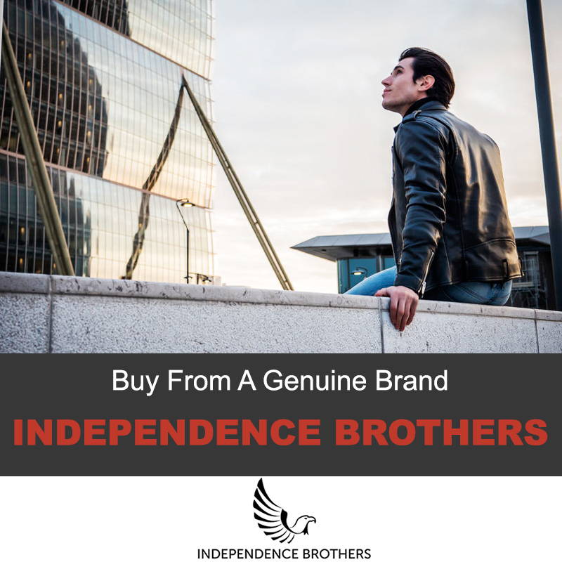 Independence brother leather jackets