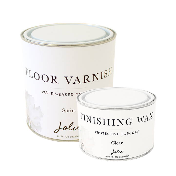 Jolie Topcoats Finishing Wax Floor Varnish
