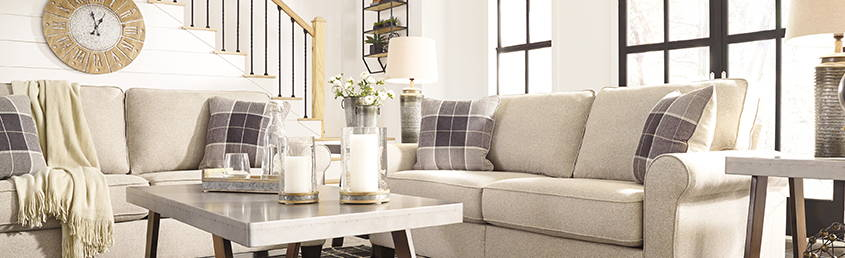 How To: Make Your Small Living Room Look Larger - Ashley ...