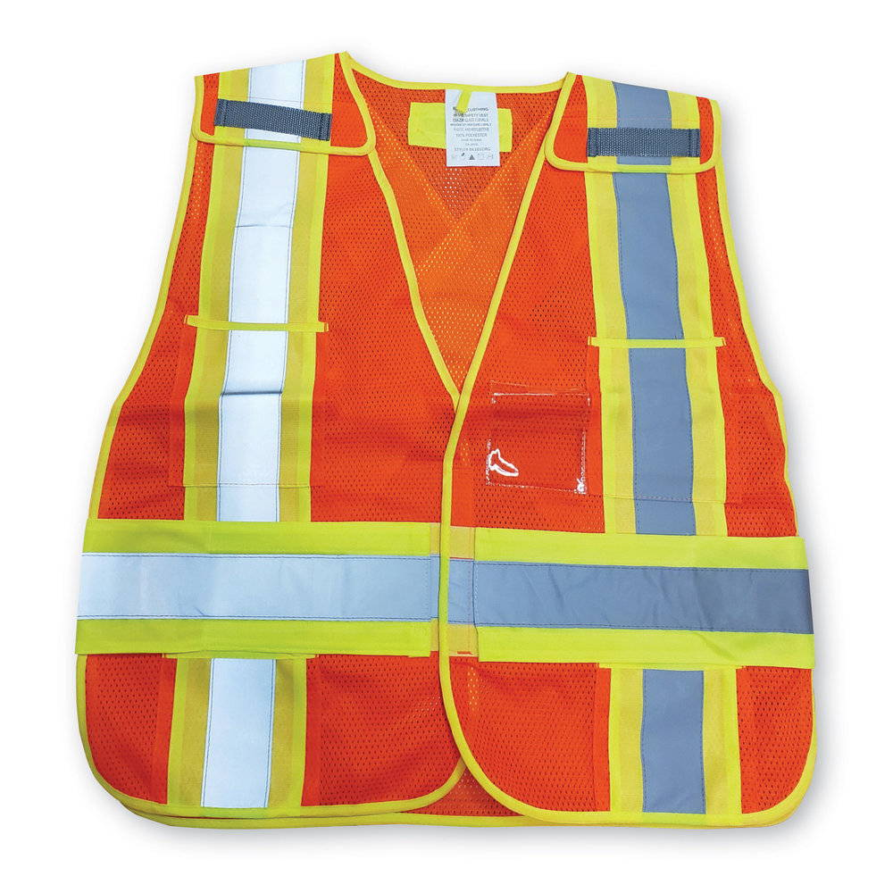High visibility safety traffic vest - Big K BK101