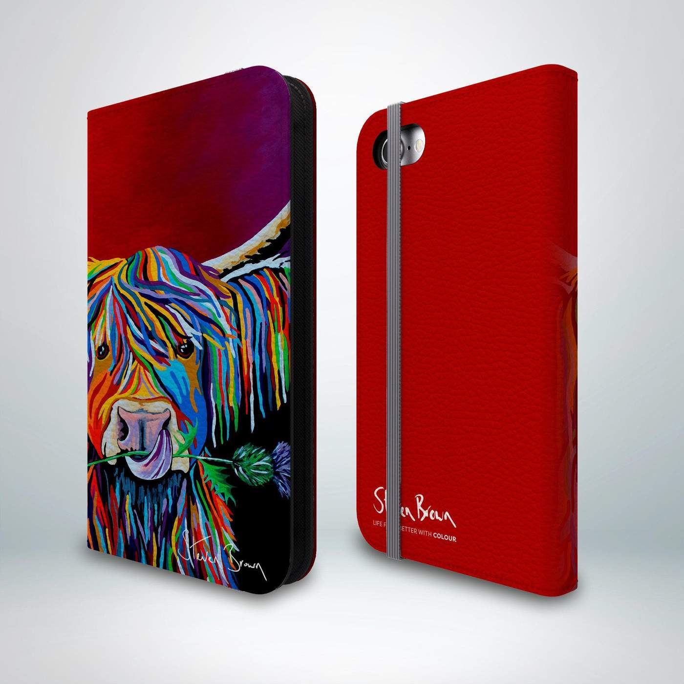 Steven Brown Flip Phone Case - Technology  Collection