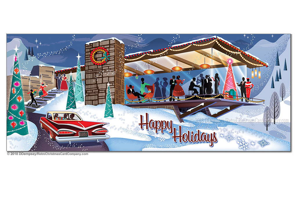 Cards from The Retro Christmas Card Company