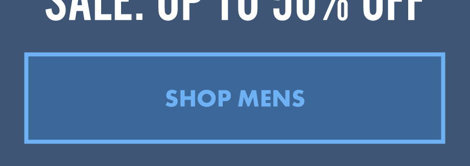 Sale: Up To 50% Off | Shop Mens