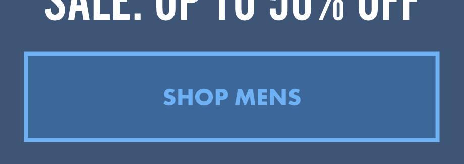 Sale: Up To 50% Off | Shop Mens