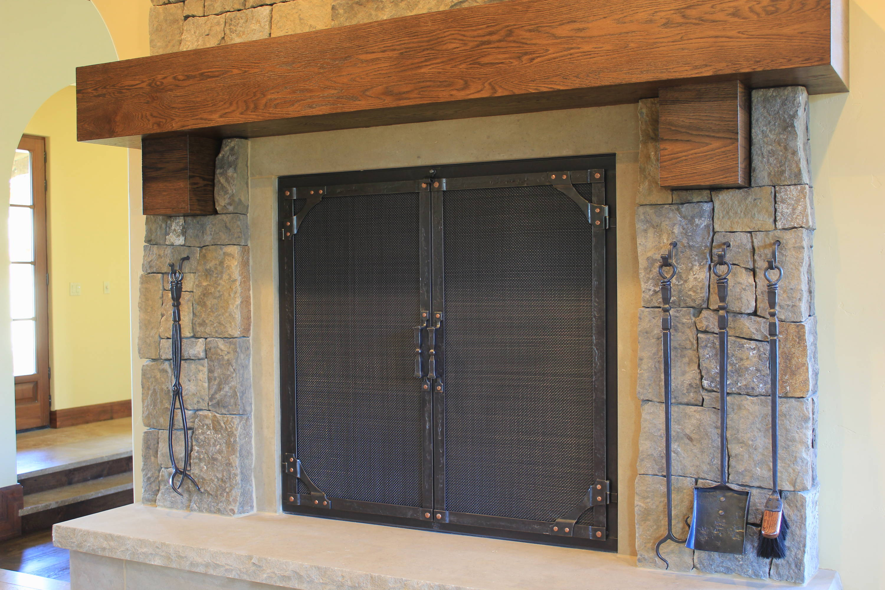 Custom Fireplace Doors Ponderosaforge