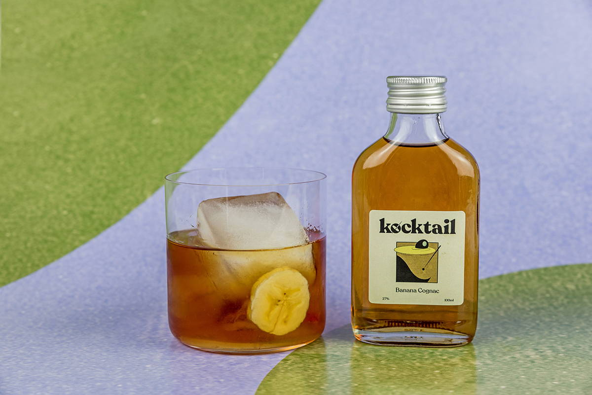 A banana cognac by Kocktail