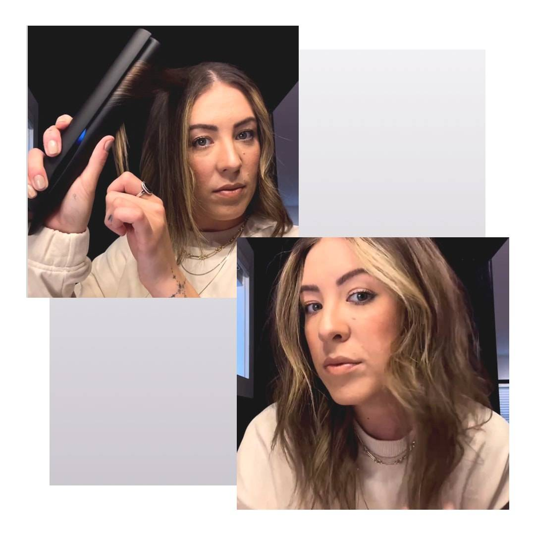 Eryca using the Obsidian TYME Iron Pro to get waves