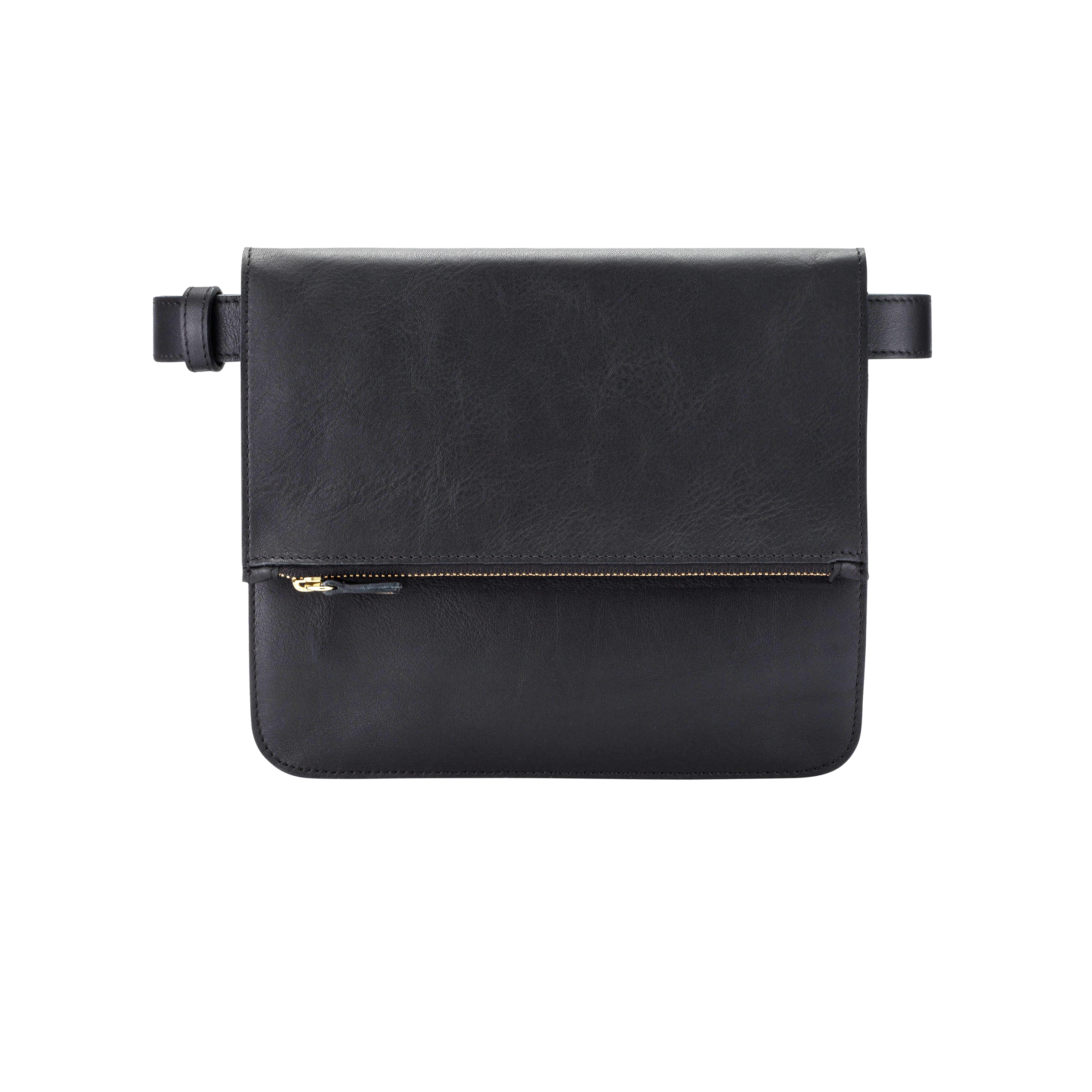 Tourist 3 in 1 leather belt bag