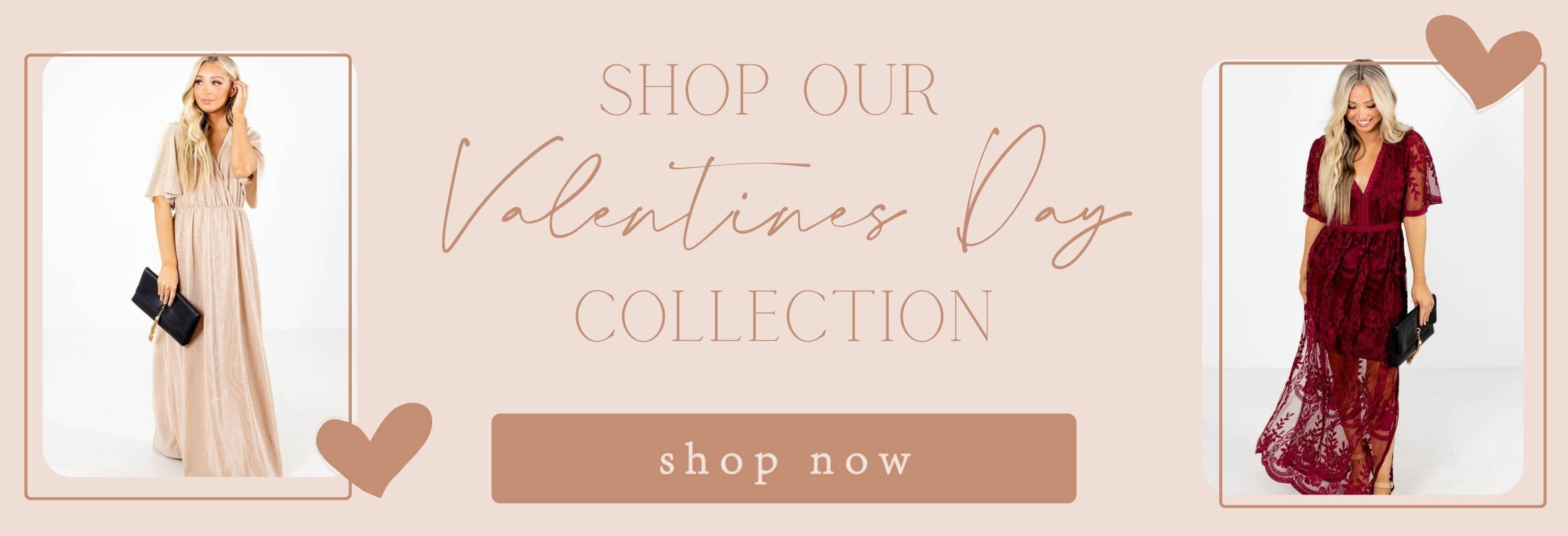Bella Ella Boutique Valentine's Day Collection is available! Shop now.