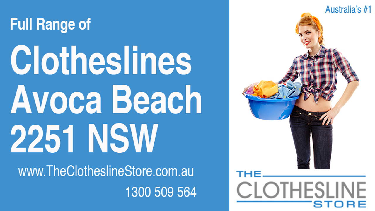 Clotheslines Avoca Beach 2251 NSW