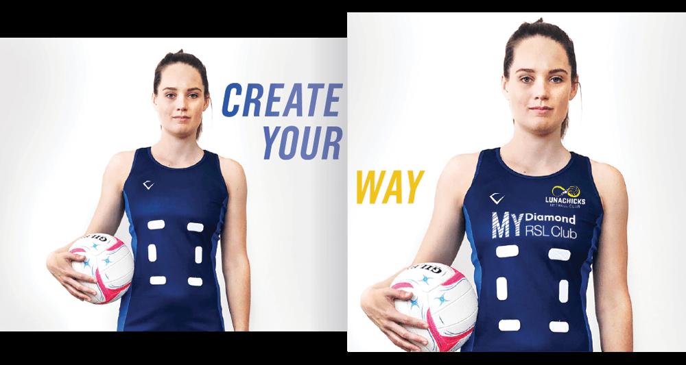 Create Your Netball Dress