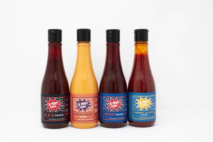 Variety of KPOP Gochujang Sauces