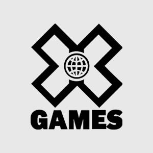 XGames Logo black and white