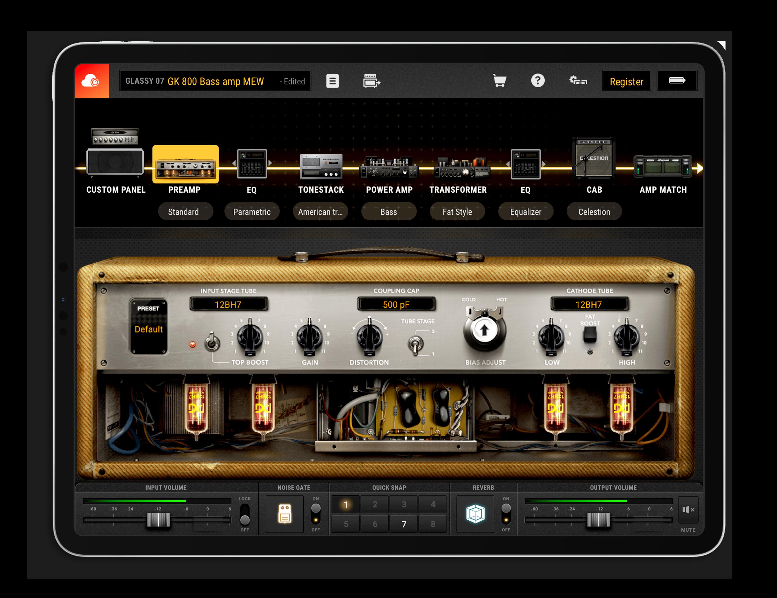 BIAS Amp 2 for ipad