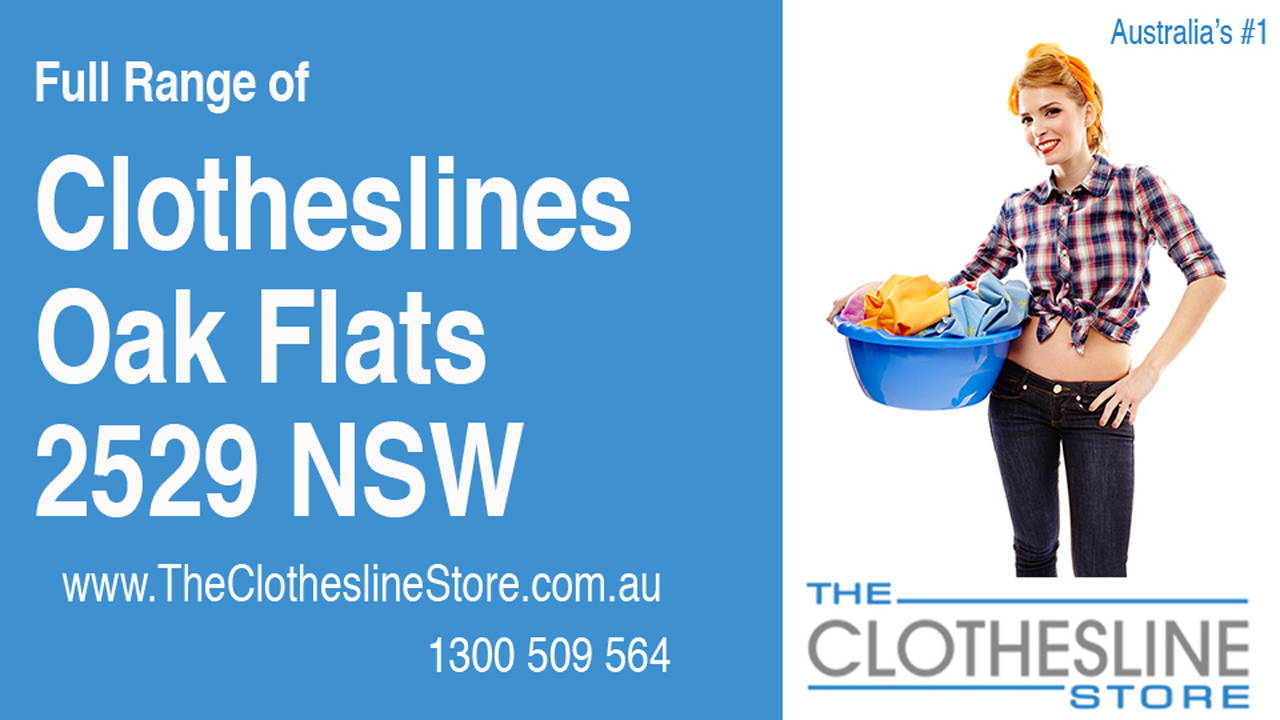 New Clotheslines in Oak Flats 2529 NSW
