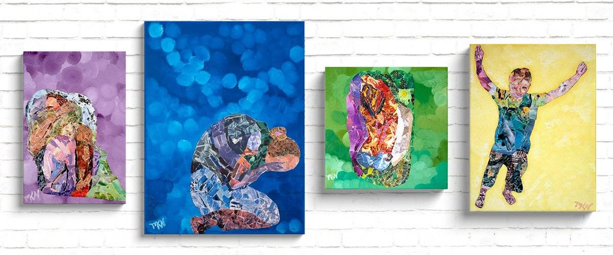 Collage Canvas Wraps
