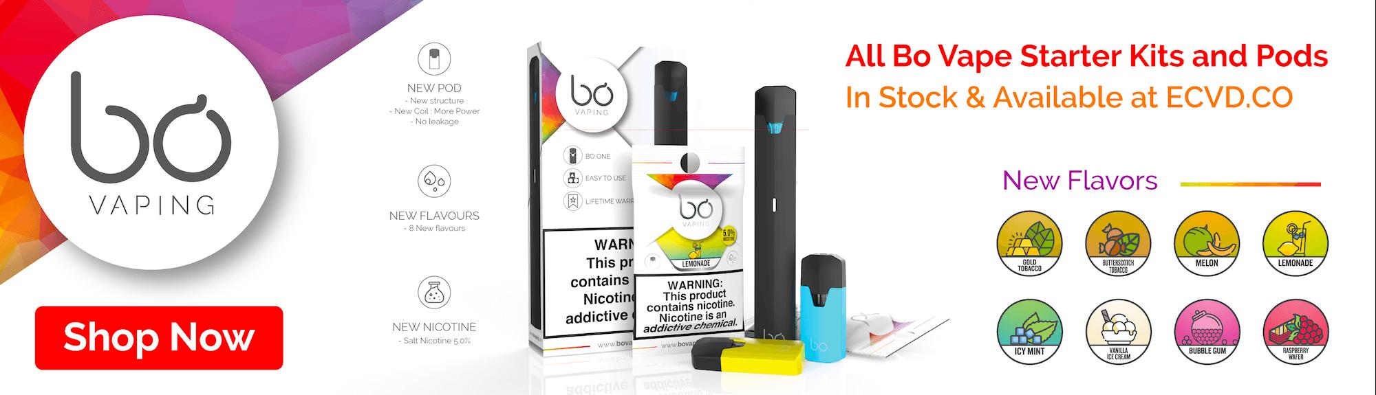 BO Vape Banner - Bo Vape Pods, Kits & More