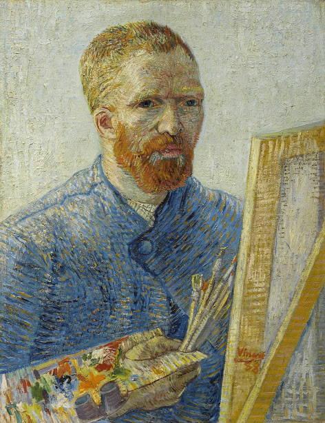 Vincent ® Van Gogh Museum Portrait 2