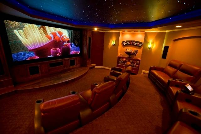 Starscape star ceiling fiber optic home entertainment theater ceiling