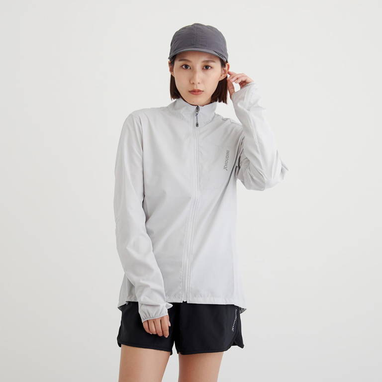 HOUDINI(フーディニ)/エアツーエアウィンドジャケット/ライトグレー/WOMENS