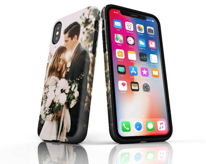 iPhone XS Max Extra Protective Case Side by Side