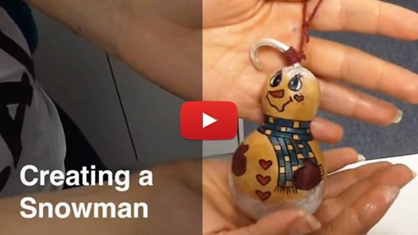 Creating a Snowman video
