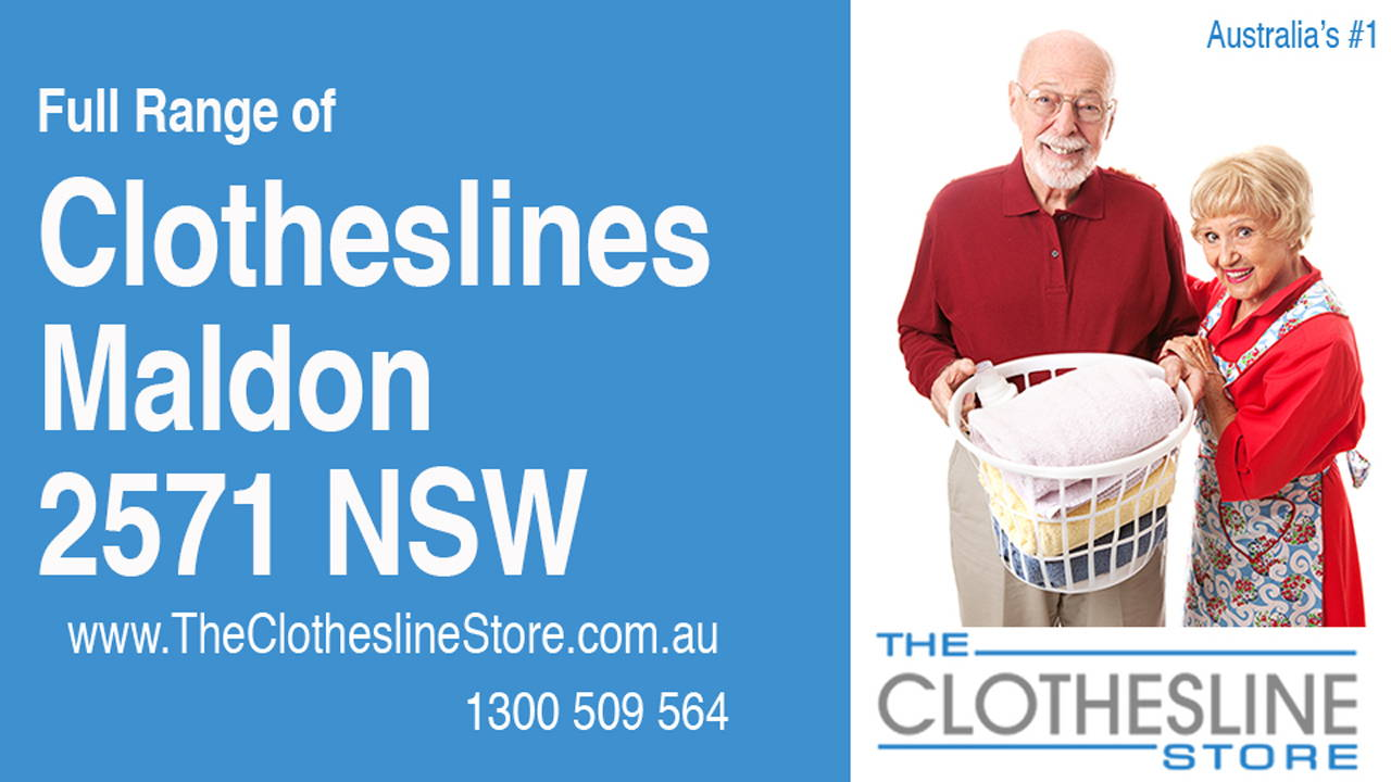 New Clotheslines in Maldon 2571 NSW