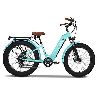 Emojo 500W Breeze Pro Beach Cruiser Step-Thru Electric Bike