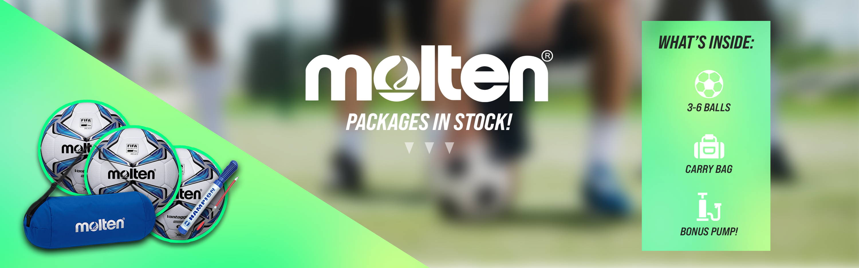 Molten - Packages in Stock
