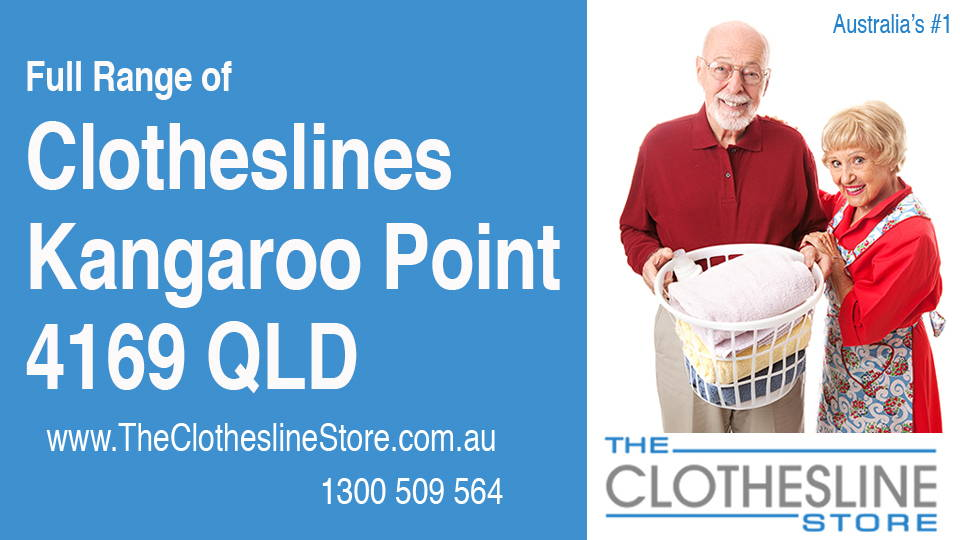 New Clotheslines in Kangaroo Point Queensland 4169