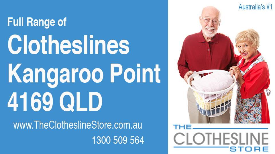 New Clotheslines in Kangaroo Point Queensland 4169